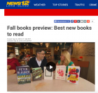 "Newsday Includes An Accidental Corpse in ""Best Books for Fall"""